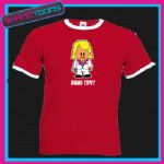 KEITH LEMON INSPIRED BANG TIDY! RINGER RETRO FUNNY TSHIRT